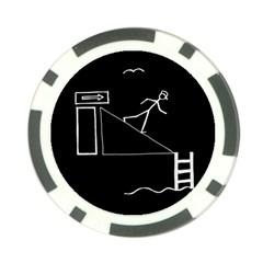 Drawing Poker Chip Card Guard