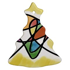 Abstract Art Colorful Ornament (christmas Tree)