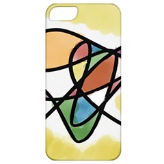 Abstract Art Colorful Apple Iphone 5 Classic Hardshell Case