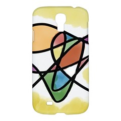 Abstract Art Colorful Samsung Galaxy S4 I9500/i9505 Hardshell Case by Modern2018