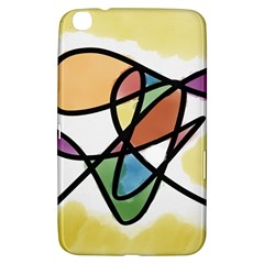 Abstract Art Colorful Samsung Galaxy Tab 3 (8 ) T3100 Hardshell Case