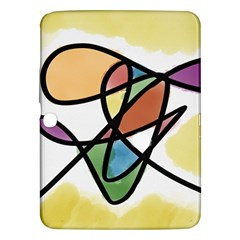 Abstract Art Colorful Samsung Galaxy Tab 3 (10 1 ) P5200 Hardshell Case