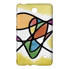 Abstract Art Colorful Samsung Galaxy Tab 4 (7 ) Hardshell Case