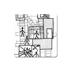 Drawing Square Magnet