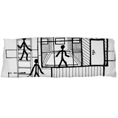 Drawing Body Pillow Case (dakimakura)