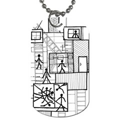 Drawing Dog Tag (two Sides)