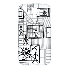 Drawing Samsung Galaxy S4 I9500/i9505 Hardshell Case