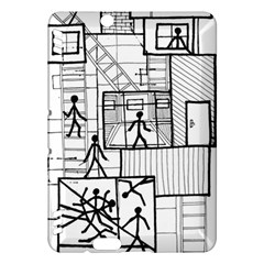 Drawing Kindle Fire Hdx Hardshell Case
