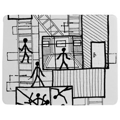 Drawing Jigsaw Puzzle Photo Stand (rectangular)