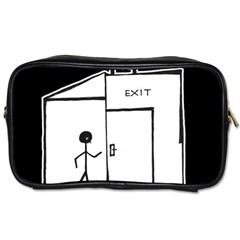 Drawing Toiletries Bags 2 Side