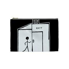 Drawing Cosmetic Bag (medium)