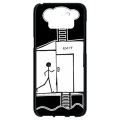 Drawing Samsung Galaxy S8 Black Seamless Case by ValentinaDesign