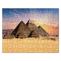 Ancient Archeology Architecture Rectangular Jigsaw Puzzl