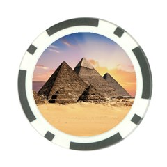 Ancient Archeology Architecture Poker Chip Card Guard (10 Pack)