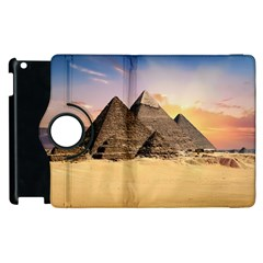 Ancient Archeology Architecture Apple Ipad 3/4 Flip 360 Case