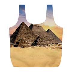 Ancient Archeology Architecture Full Print Recycle Bags (l)