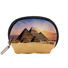 Ancient Archeology Architecture Accessory Pouches (small)
