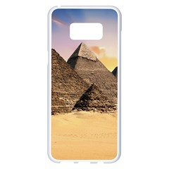Ancient Archeology Architecture Samsung Galaxy S8 Plus White Seamless Case