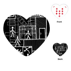 Drawing Playing Cards (heart)