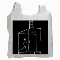 Drawing Recycle Bag (one Side)