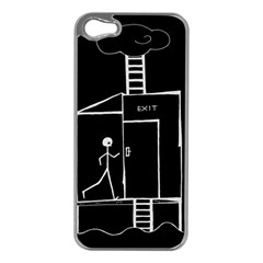 Drawing Apple Iphone 5 Case (silver)