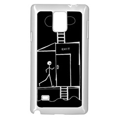 Drawing Samsung Galaxy Note 4 Case (white)