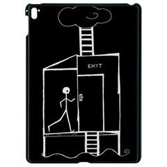 Drawing Apple Ipad Pro 9 7   Black Seamless Case