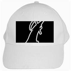 Drawing White Cap by ValentinaDesign