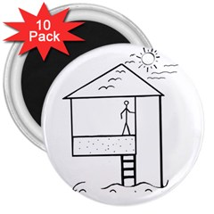 Drawing 3  Magnets (10 Pack)