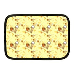 Funny Sunny Ice Cream Cone Cornet Yellow Pattern  Netbook Case (medium)