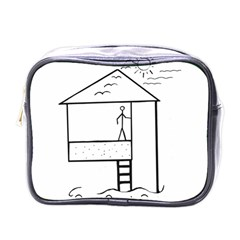 Drawing Mini Toiletries Bags