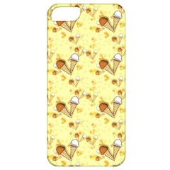Funny Sunny Ice Cream Cone Cornet Yellow Pattern  Apple Iphone 5 Classic Hardshell Case