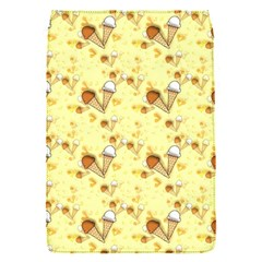 Funny Sunny Ice Cream Cone Cornet Yellow Pattern  Flap Covers (s)