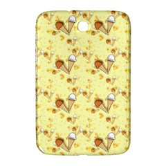 Funny Sunny Ice Cream Cone Cornet Yellow Pattern  Samsung Galaxy Note 8 0 N5100 Hardshell Case