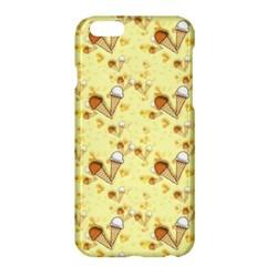 Funny Sunny Ice Cream Cone Cornet Yellow Pattern  Apple Iphone 6 Plus/6s Plus Hardshell Case