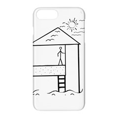 Drawing Apple Iphone 8 Plus Hardshell Case by ValentinaDesign