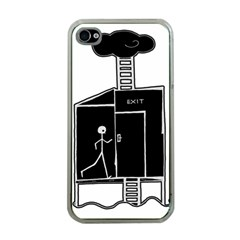 Drawing Apple Iphone 4 Case (clear)