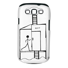 Drawing Samsung Galaxy S Iii Classic Hardshell Case (pc+silicone)