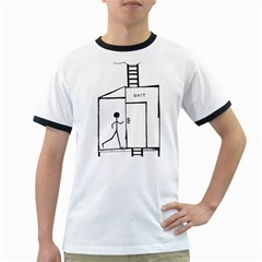 Drawing Ringer T Shirts