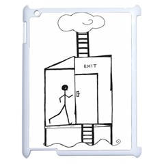 Drawing Apple Ipad 2 Case (white)