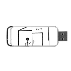 Drawing Portable Usb Flash (two Sides)