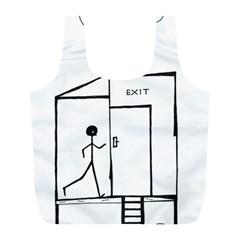 Drawing Full Print Recycle Bags (l)