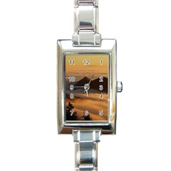 Homberg Clouds Selva Marine Rectangle Italian Charm Watch