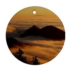 Homberg Clouds Selva Marine Ornament (round)