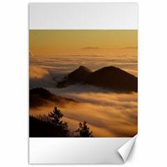 Homberg Clouds Selva Marine Canvas 20  X 30
