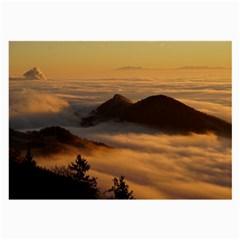 Homberg Clouds Selva Marine Large Glasses Cloth by Simbadda