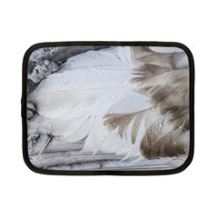 Feather Brown Gray White Natural Photography Elegant Netbook Case (small)