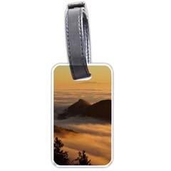 Homberg Clouds Selva Marine Luggage Tags (two Sides) by Simbadda