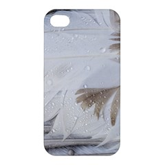 Feather Brown Gray White Natural Photography Elegant Apple Iphone 4/4s Hardshell Case