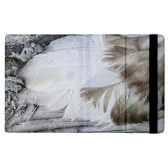 Feather Brown Gray White Natural Photography Elegant Apple Ipad 2 Flip Case